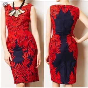 Anthropologie stunning dress size 4